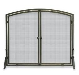 Uniflame Corporation 1 Panel Bronze Fireplace Screen