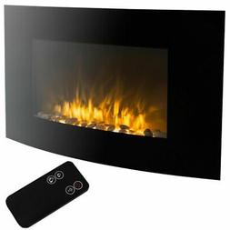 1500w Electric Fire Place Wall Mounted Fireplace Heater with