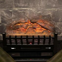 VIVOHOME 1500W Electric Remote Insert Log Fireplace Space He