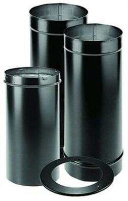 """DuraVent 1692 6"""" Single Wall Stove Pipe Kit"""