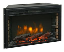"26"" Electric Firebox Insert - with Fan Heater and Glowing Lo"