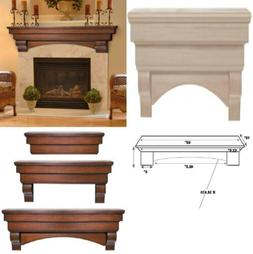 Pearl Mantels 495-60 Auburn Arched 60-Inch Wood Fireplace 60
