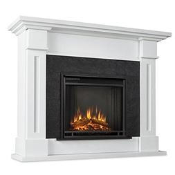 Real Flame 6030E-W 6030E Kipling Electric Fireplace, Medium,