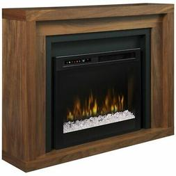 Dimplex Anthony Mantel Electric Fireplace with Glass Ember B
