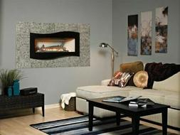 Boulevard Cont. VF IP Fireplace w/Liner and White Porcelain