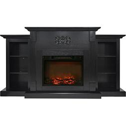 Cambridge CAM7233-1COF Sanoma 72 In. Electric Fireplace in B