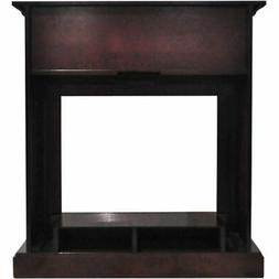 "Cambridge Sienna 34"" Electric Fireplace Heater with Mahogany"
