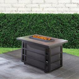 Hanover Chateau 30,000 BTU Gas Fire Pit Coffee Table Outdoor