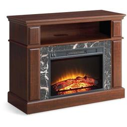 "Whalen 41"" Cherry Media Fireplace for Television Stand up to"