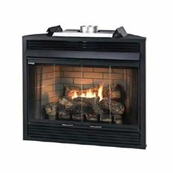 """Empire Comfort Systems Deluxe MV 36"""" Louver B-Vent Fireplace"""