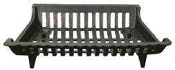 "ea GHP Group CG18 18"" Cast Iron Black Fireplace Grates"