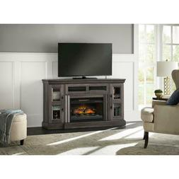 Electric Fireplace TV Stand 60 in. Programmable Thermostat G
