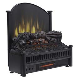 Pleasant Hearth Electric Log Insert with Removeable Fireback