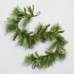 Hearth & Hand with Magnolia- Garland Pine with White Berry,