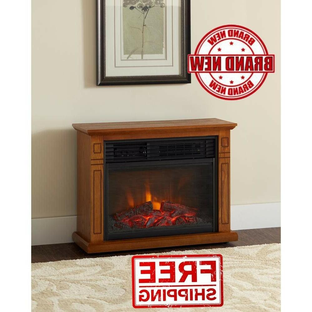 1,500-Watt infrared Electric Fireplace in Oak
