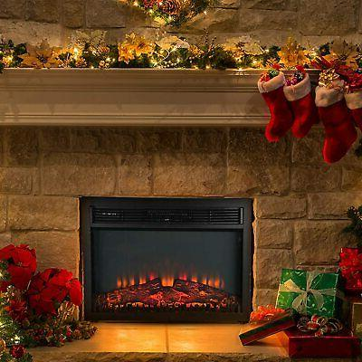 1400W Electric Wall Insert Fire with