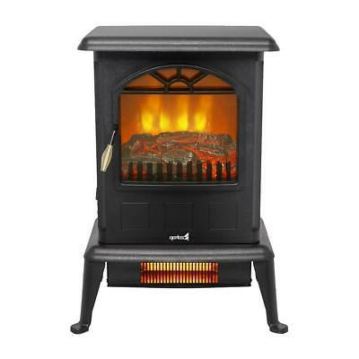 1500W Electric Wood Fire Stove 68-95℉/20-35℃ Adjustable
