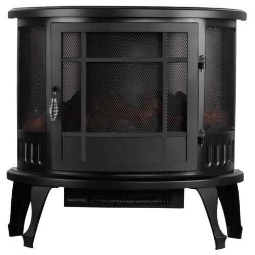 "1500W 23"" Electric Fireplace Stove Flame"