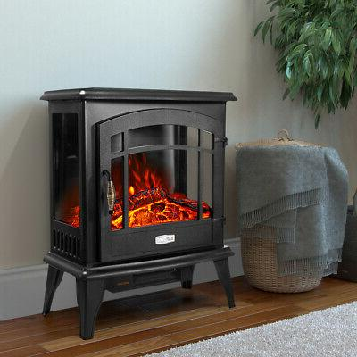 1500W Space Heater Flame Stove
