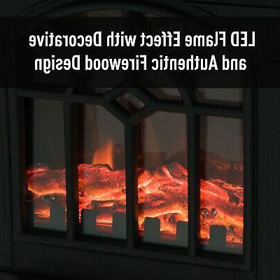 Electric Fireplace Stove Realistic