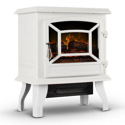 17 inch electric infrared fireplace stove heater