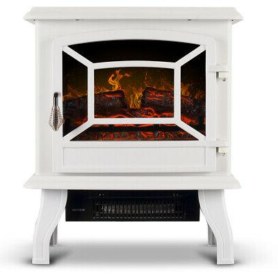 """17"""" Infrared Stove Heater Flame 1400W"""