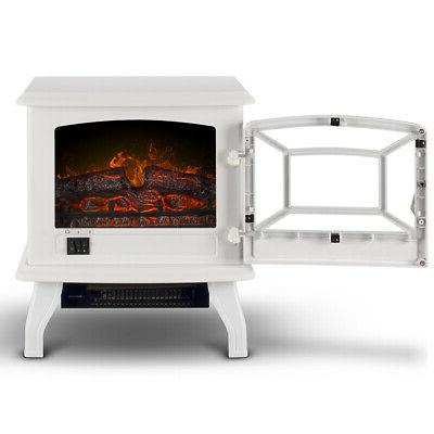 """17"""" Electric Infrared Fireplace Stove Flame"""