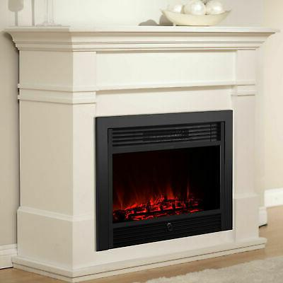 """Embeddable Electric Wall Insert Fireplace Heater 28.5"""" Home"""