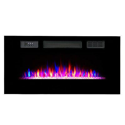 Clevr Recessed Fireplace Heater w/