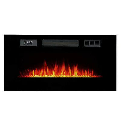 Clevr Recessed Fireplace w/ &