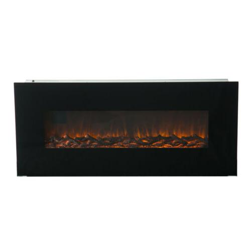 "50"" Mounted Fireplace w/ Remote Control"