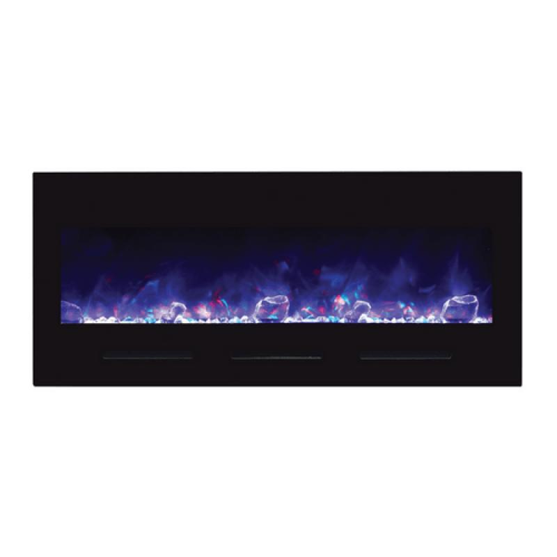 Amantii 50″ Electric Fireplace Wall Mount or Built-in