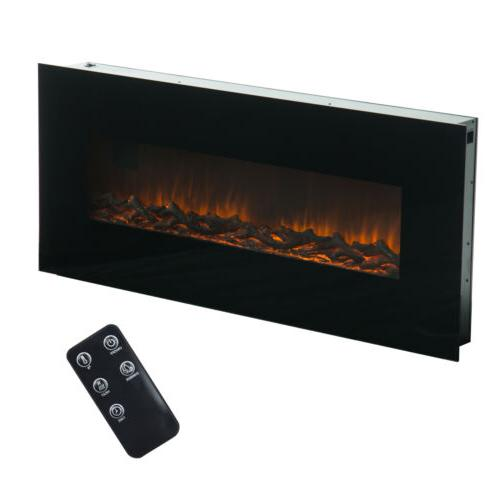 """50"""" 1500W Wall Mount Flame Control"""