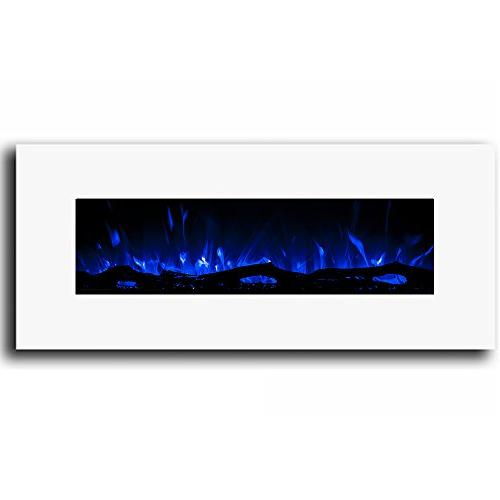"""Regal 50"""" Ventless Electric Wall Fireplace Better Wood Fireplaces, Gas Logs, Fireplace Log Sets, Space Heaters,"""