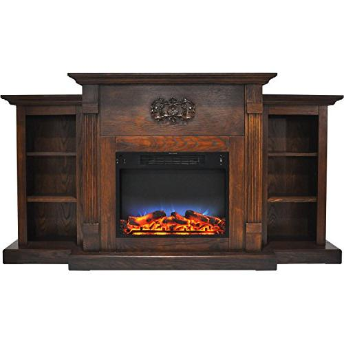 cam7233 1walled sanoma electric fireplace