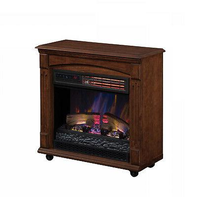 Electric Infrared Heater Freestanding Remote