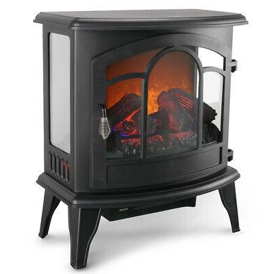 Electric Fireplace Tempered Adjustable
