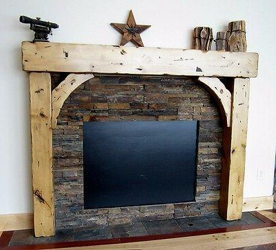 Fireplace Mantels Beam With