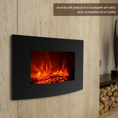 """35"""" Electric Fireplace Insert Flame Control Warm"""
