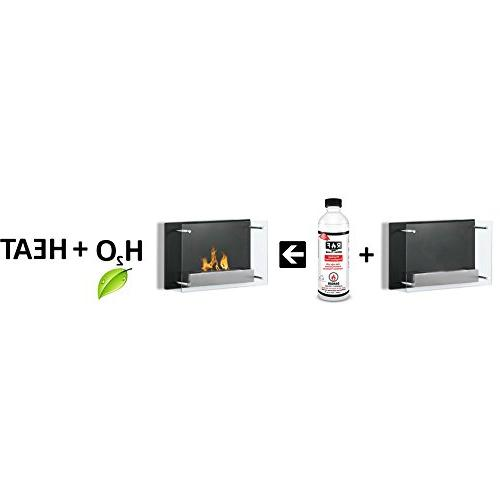 Regal Flame Inch Recessed Bio Ethanol Mounted Fireplace