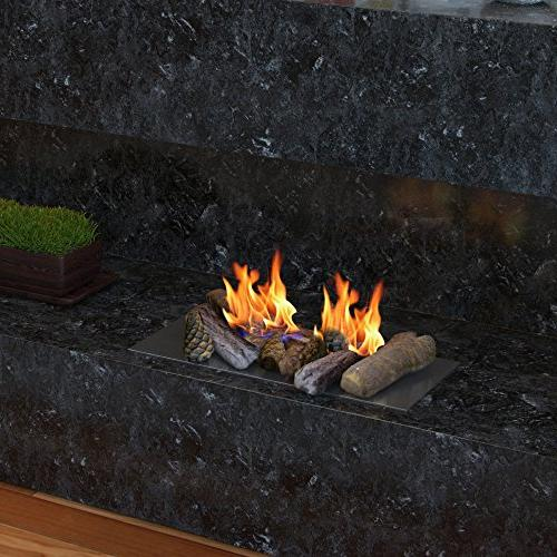 Regal Petite Wood Gas Logs of Indoor, Gas Inserts, Ventless & Vent Propane, or Outdoor & Fire Pits.