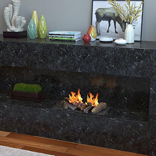 Regal Flame Petite of Wood Gas Fireplace Logs Logs of Gas Inserts, Ventless Propane, or Fireplaces Fire Pits.