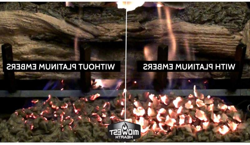 Midwest Platinum Embers For Fireplaces