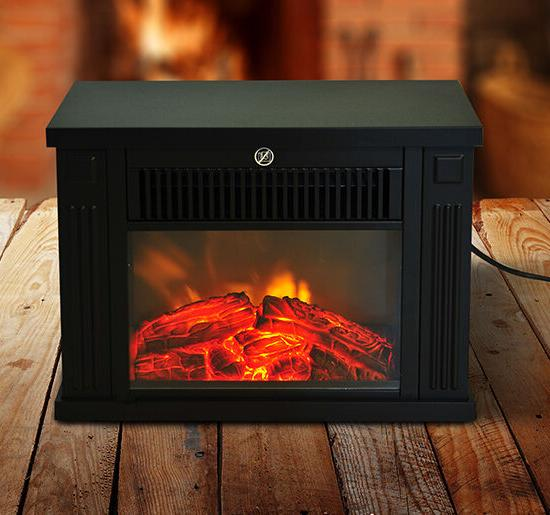 Portable Standing Tabletop Heater LED