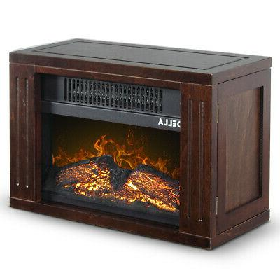 Portable Freestanding Heater Effect Electric Fireplace
