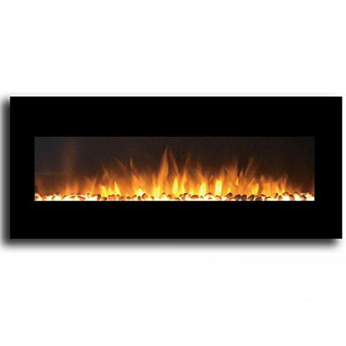 """Regal Flame Black 50"""" Ventless Electric Better Than Wood Fireplaces, Gas Log Space Heaters,"""