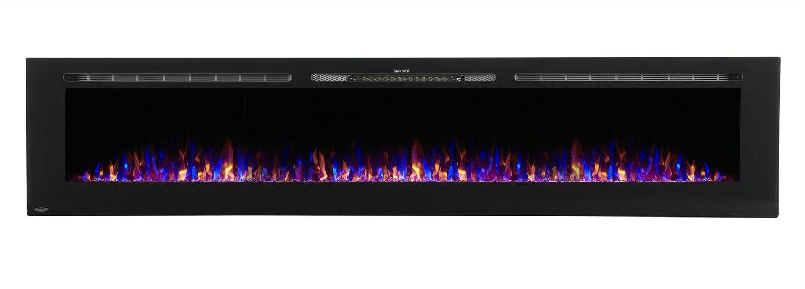 sideline 100 80032 100 recessed electric fireplace