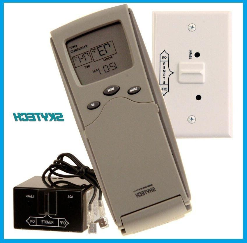 sky 3301 fireplace remote control with timer