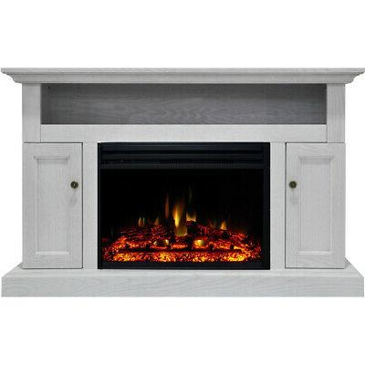 sorrento electric fireplace heater with 47 in
