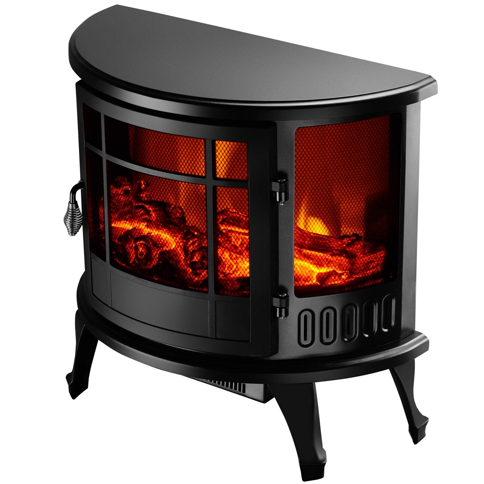 "23"" Electric Stove 1500W Heater Flame Adjustable"